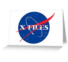 The Nasa Files  Greeting Card