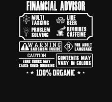 Awesome FINANCIAL ADVISOR tee Unisex T-Shirt