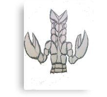 Ultra Monster Baltan Metal Print