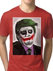 Joker Trump — Why so Serious? Tri-blend T-Shirt