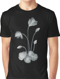 Ink flower negative Graphic T-Shirt