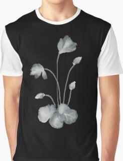 Ink flower negative Graphic T-Shirt
