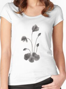 Ink flower Women's Fitted Scoop T-Shirt