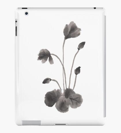 Ink flower iPad Case/Skin