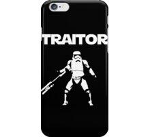 Star Wars TRAITOR (Star Wars font) iPhone Case/Skin