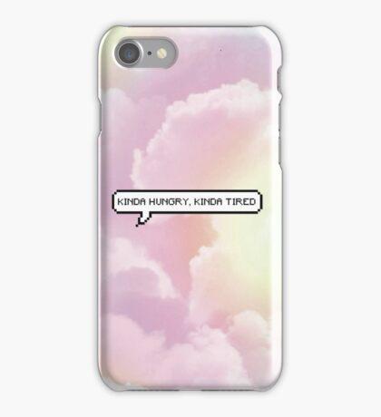 Kinda Hungry, Kinda Tired - Clouds iPhone Case/Skin