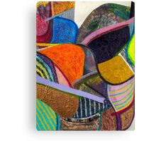 Decoded Canvas Print