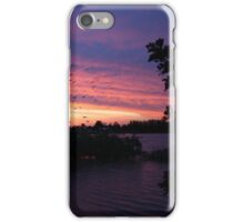 Sunset over Rathluba 2 iPhone Case/Skin