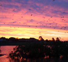 Sunset over Rathluba 2 Sticker