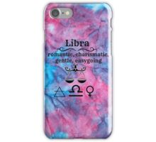 Libra Star Sign Design iPhone Case/Skin
