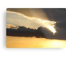 Sunset over Rathluba 3 Metal Print