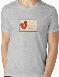 Soulmates Wrapped In A Blanket of Love Mens V-Neck T-Shirt