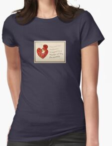 Soulmates Wrapped In A Blanket of Love Womens Fitted T-Shirt