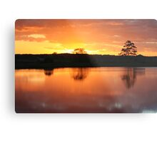 Sunset Over Rathluba 5 Metal Print