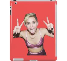 Funny Miley Cyrus - tri iPad Case/Skin