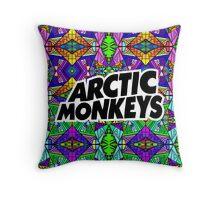 Arctic Monkeys - Trippy Pattern 2 Throw Pillow