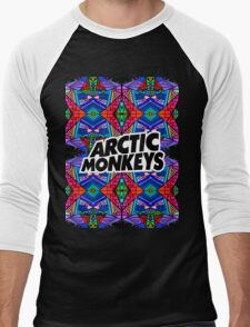 Arctic Monkeys - Trippy Pattern 3 Men's Baseball ¾ T-Shirt