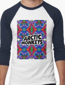 Arctic Monkeys - Trippy Pattern 3 Men's Baseball ¾ T-Shirt