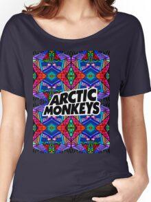 Arctic Monkeys - Trippy Pattern 3 Women's Relaxed Fit T-Shirt