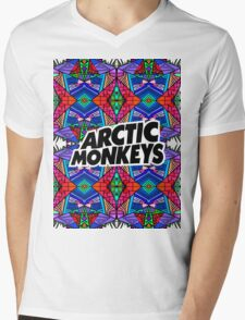 Arctic Monkeys - Trippy Pattern 3 Mens V-Neck T-Shirt
