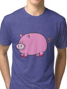 Pig Tri-blend T-Shirt