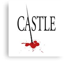 Castle Merchandise Canvas Print