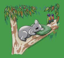 Sweet Dreams Sleepy Koala Kids Tee