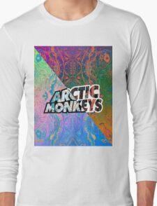 Arctic Monkeys - Colorful Pattern 1 Long Sleeve T-Shirt