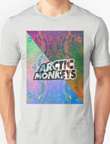 Arctic Monkeys - Colorful Pattern 1 T-Shirt