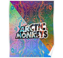 Arctic Monkeys - Colorful Pattern 1 Poster