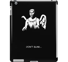 Just don't. iPad Case/Skin
