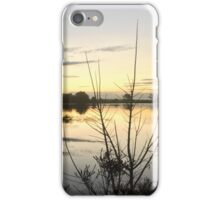 Sunset over Rathluba 9 iPhone Case/Skin