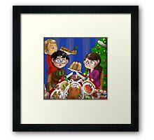Hannibal - Christmas dinner Framed Print