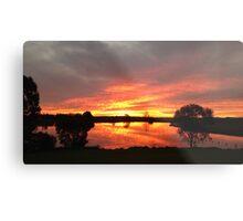 Sunset over Rathluba 10 Metal Print