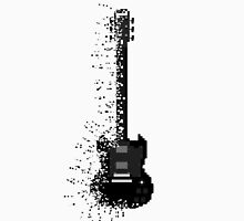 Minecraft Rock Guitar Unisex T-Shirt