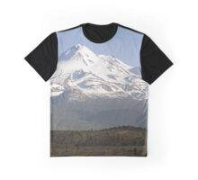Mt. Shasta from Highway 97 Graphic T-Shirt