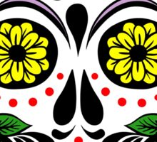 Mexican skull (1) Sticker