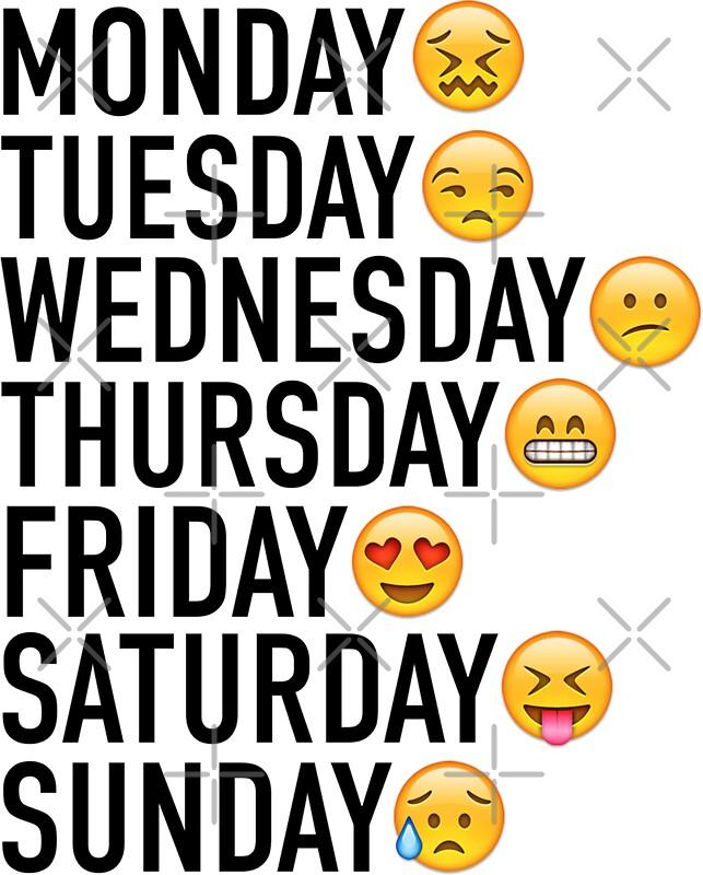 Calendars Days Of The Week | Calendar Template 2016