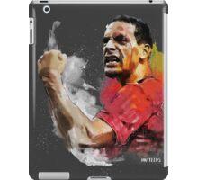 Rio ferdinand - MUFC _ fan art painting iPad Case/Skin