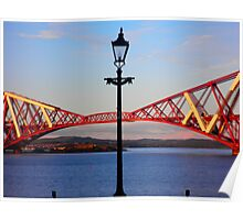 Bridging the Gap ~ Forth Rail Bridge ~ South Queensferry  Poster