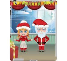 Santa and Mrs Claus in the House 2 iPad Case/Skin