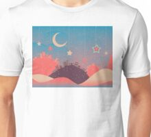 Night Winter City 3 Unisex T-Shirt