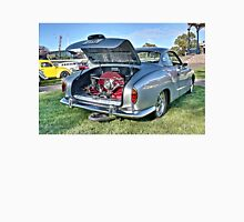 Silver Karmann Ghia rear view at Volksfest Unisex T-Shirt