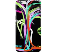 Awesome New Year Tree iPhone Case/Skin