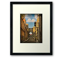Old City of Rhodes - Templar's Road Framed Print