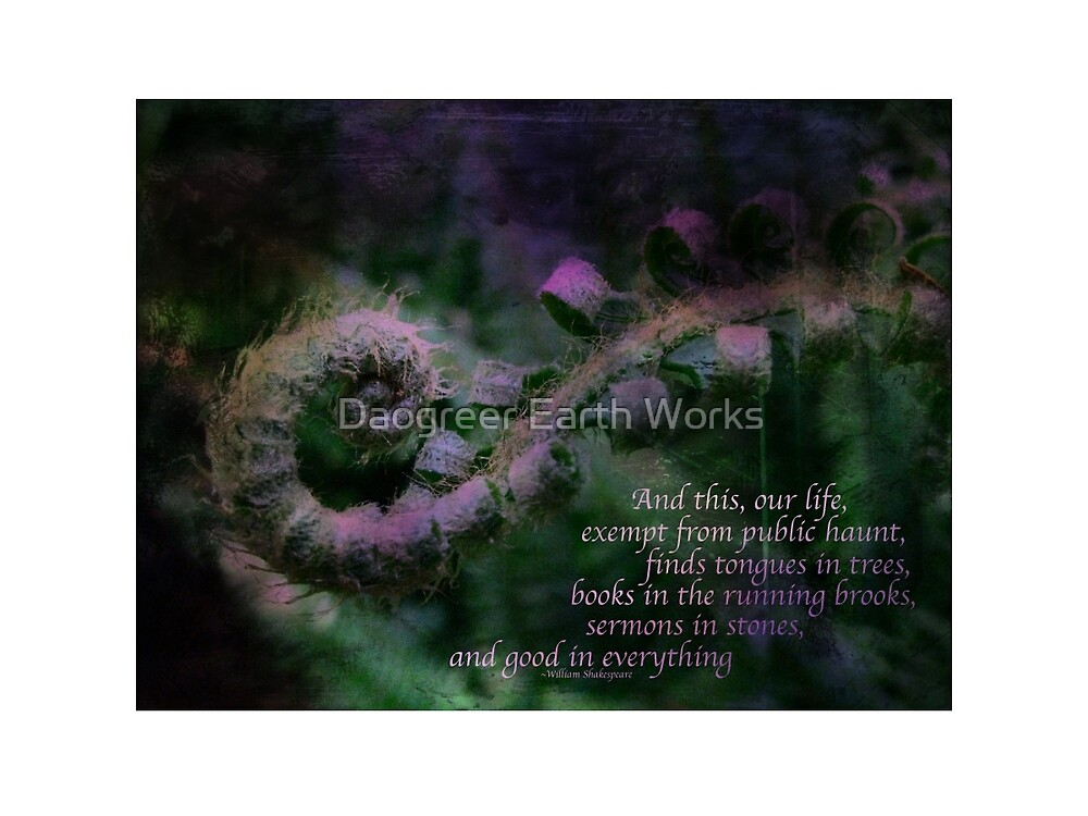Our Life Exempt by Daogreer Earth Works
