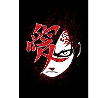 Gaara of the grunge Photographic Print