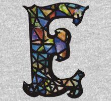 Letter E Kids Tee