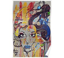 Abstract Mural Poster