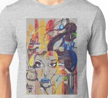 Abstract Mural Unisex T-Shirt